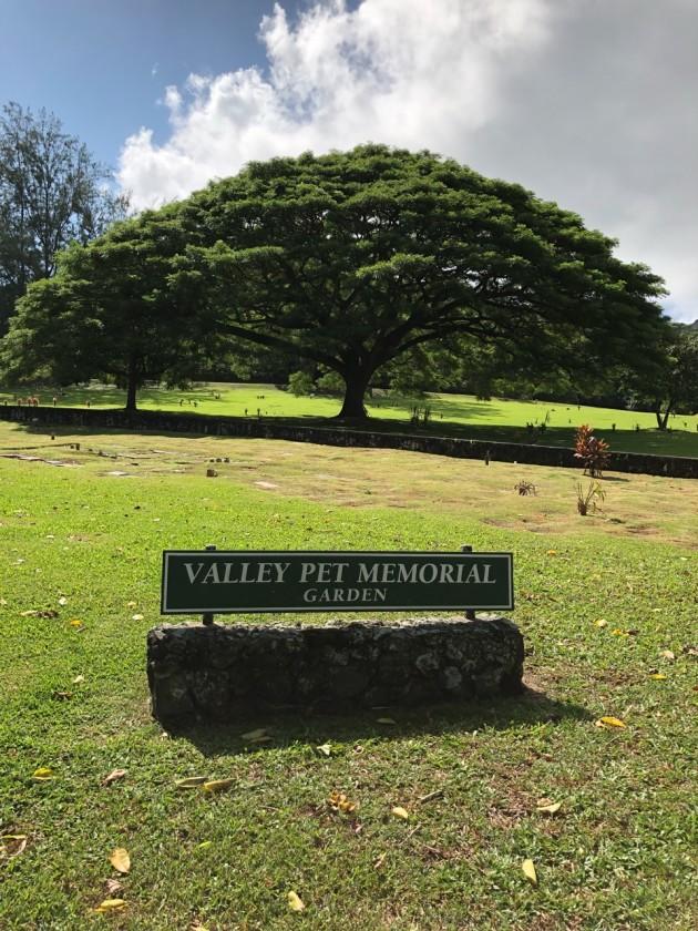 ハワイ ペット霊園2
